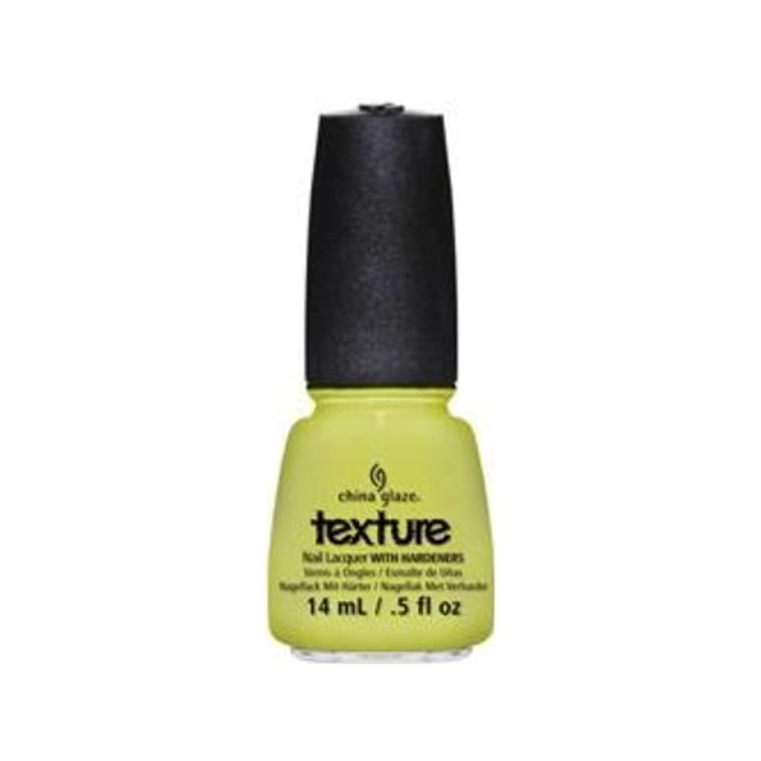 平均ゲインセイ測る(6 Pack) CHINA GLAZE Texture Nail Lacquers - In The Rough (並行輸入品)