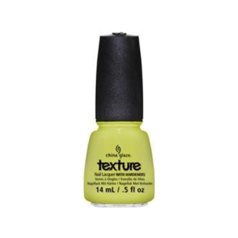 見る人バトルレンチCHINA GLAZE Texture Nail Lacquers - In The Rough (並行輸入品)
