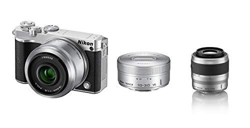 Nikon ミラーレス一眼 Nikon1 J5 ダブルレンズキット シルバー J5WLKSL +望遠ズームレンズ 1 NIKKOR VR 30-110mm f/3.8-5.6 シルバー ニコンCXフォーマット専用 セット
