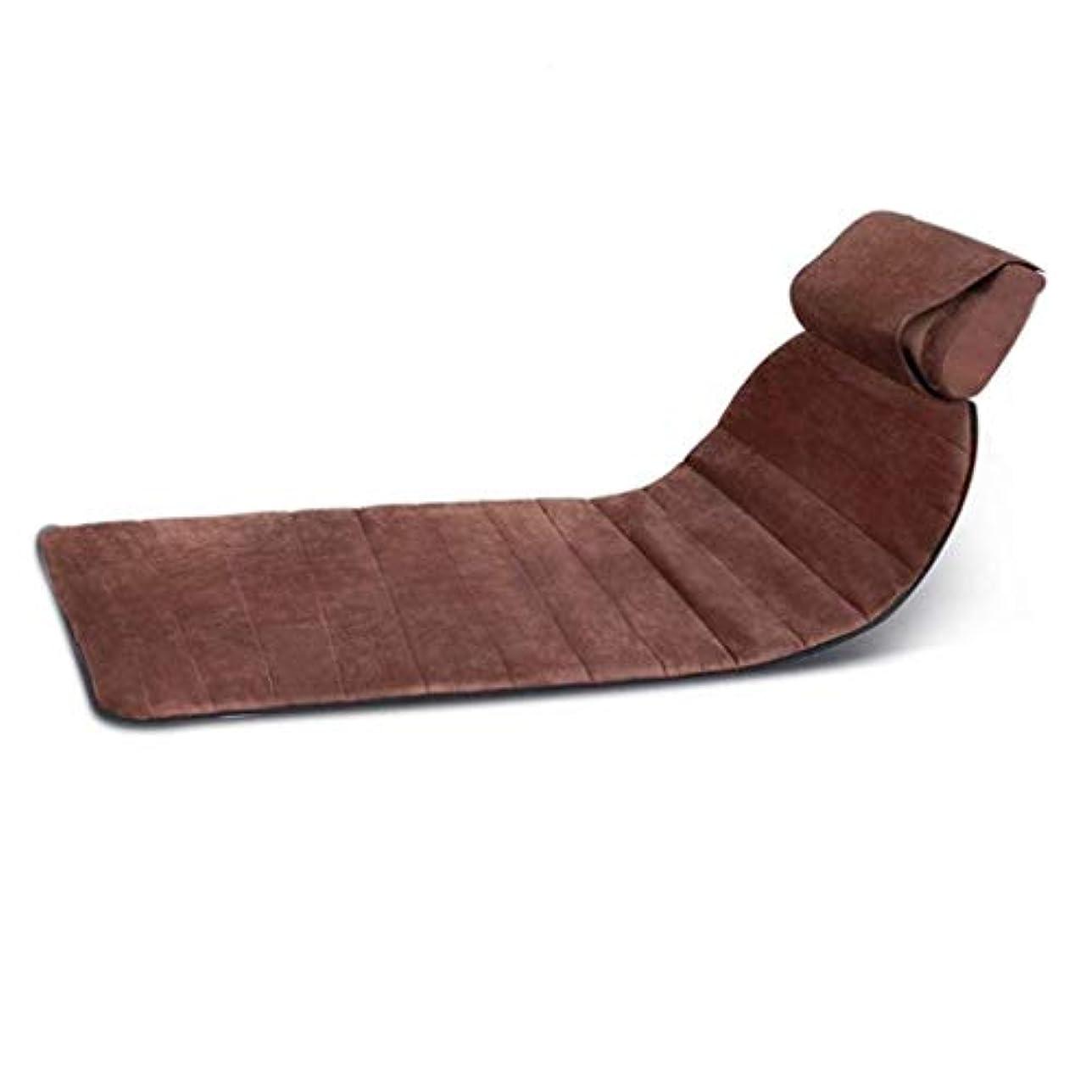 ホイットニー文法有能なマッサージクッション、折り畳み式フルボディマッサージマットレス、首と肩用の多機能加熱/振動マッサージパッド、ホームオフィスでの使用に適しており、ストレス/痛みを和らげ、筋肉をリラックス78 * 62cm