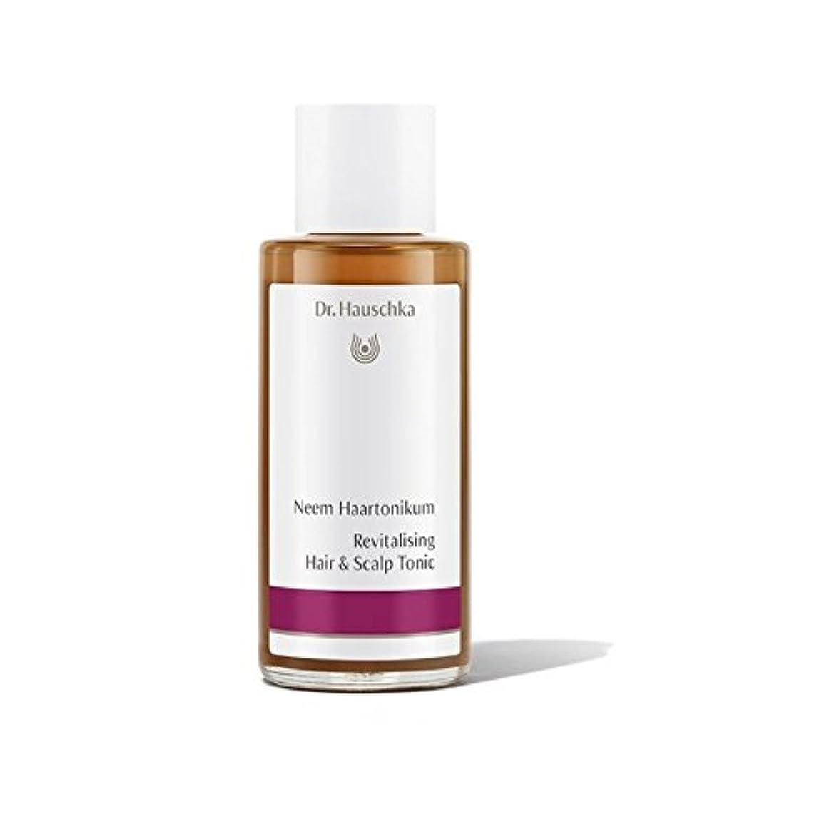 ファイナンスクローゼット天井髪と頭皮トニックを活性化ハウシュカ(100ミリリットル) x4 - Dr. Hauschka Revitalising Hair And Scalp Tonic (100ml) (Pack of 4) [並行輸入品]