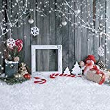 SJOLOON 10x10フィート クリスマス バックドロップ 雪 写真 背景 NEC 11194 11198 11202 11203 11204 10X10FT 10X10FT 11194