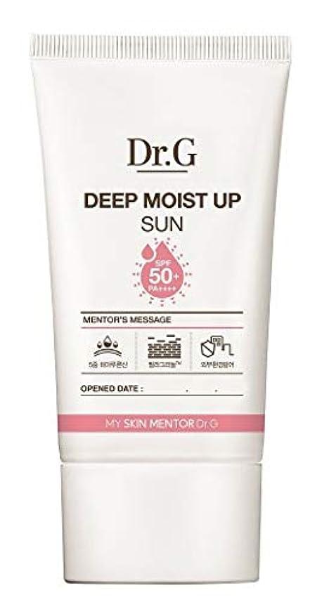 品揃え振幅編集するDr.G ドクター ジー Deep Moist Up Sun サンクリーム (50ml) SPF50+ PA++++ DR G DRG