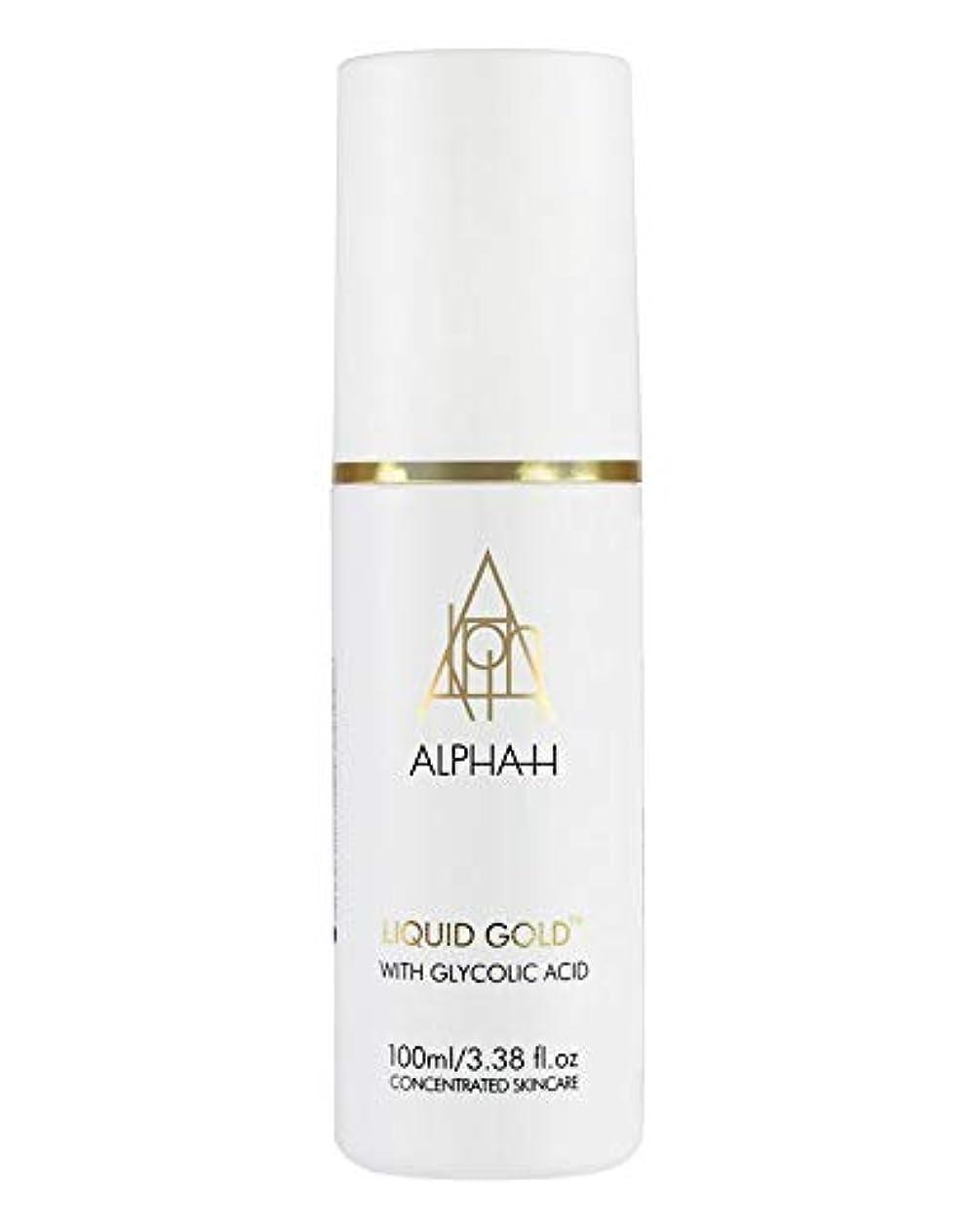 自分のために迷惑敵対的ALPHA-H LIQUID GOLD アルファ H リキッドゴールド 3.38 oz/ 100 mL [並行輸入品]