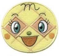 INAGAKI(稲垣服飾) アンパンマン アイロンでくっつく BIGワッペン メロンパンナちゃん APG6 6枚セット 0330023