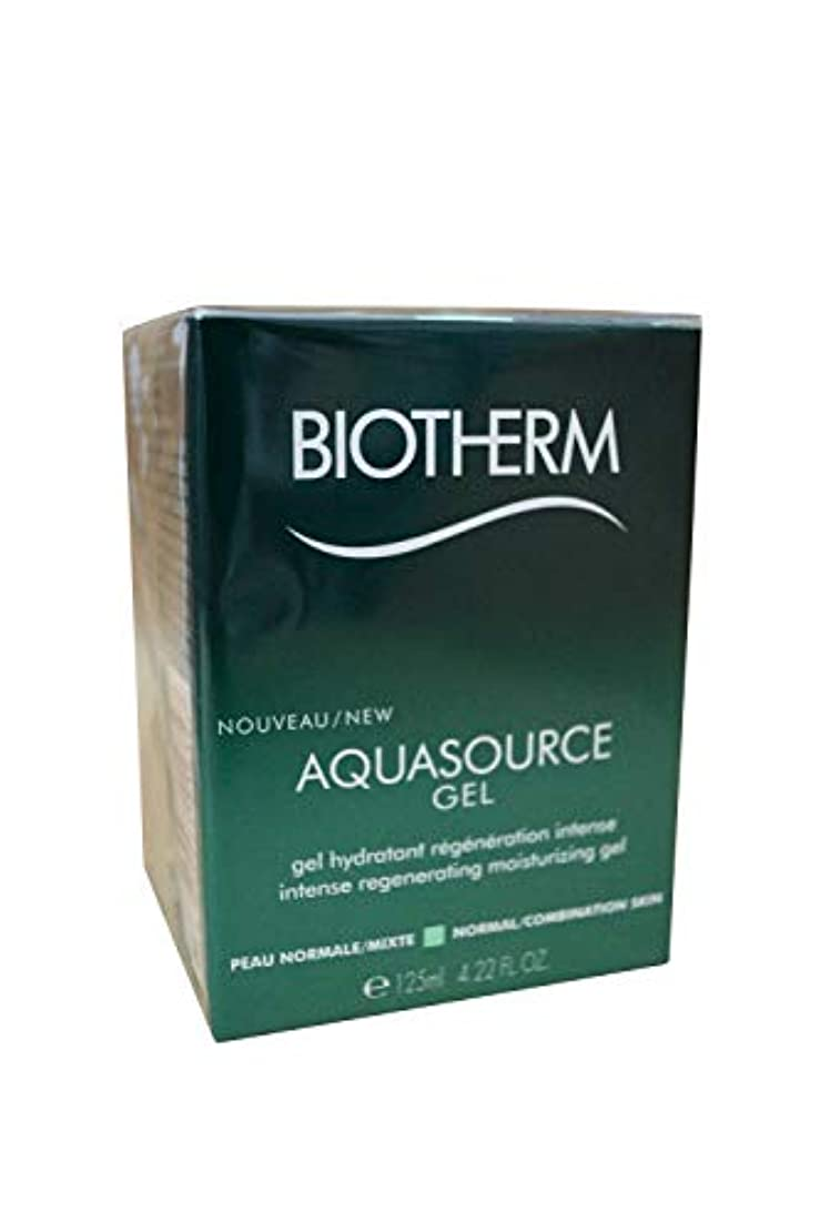 市長信念沿ってビオテルム Aquasource Gel Intense Regenerating Moisturizing Gel - For Normal/Combination Skin 125ml/4.22oz並行輸入品