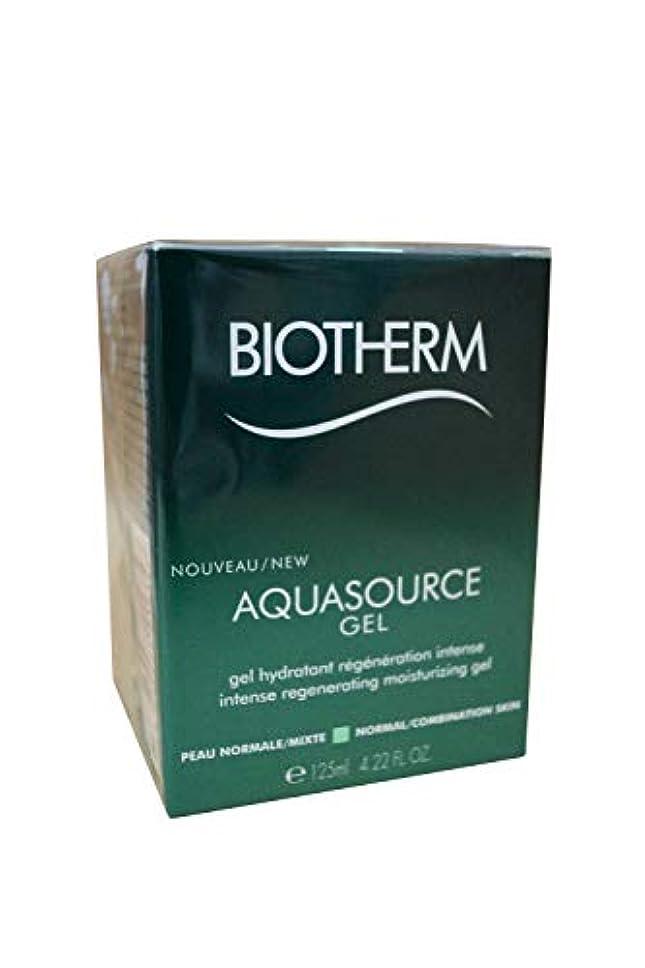 アーネストシャクルトン運ぶ視聴者ビオテルム Aquasource Gel Intense Regenerating Moisturizing Gel - For Normal/Combination Skin 125ml/4.22oz並行輸入品
