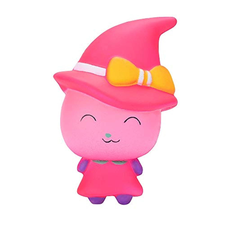 Dirance Witch マジックガール スクイーズ スクイーズ おもちゃ かわいい モチ 香り プライム 低反発 ストレス解消 おもちゃ F ピンク DR