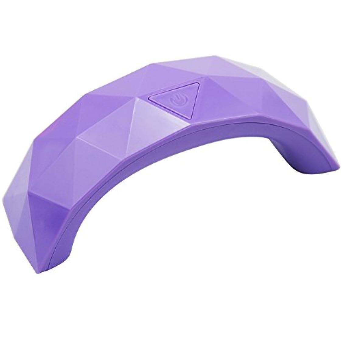 瞑想する費用周波数9W パープル ネイルライト 硬化用UV/LEDライト ネイルドライヤー ネイル道具?ケアツール 硬化用ライト マニキュア ネイルアートツール