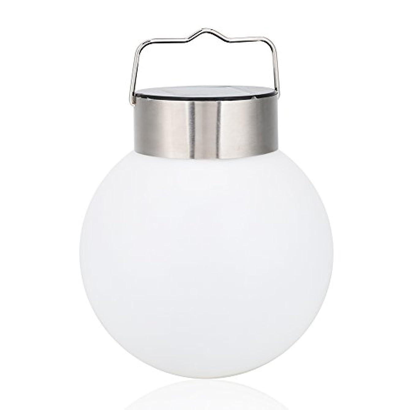 食用活力住所LED ガーデンライト 防水 軽量 ソーラーライト 光センサーで自動点灯/消灯 室外?ガーデン?庭?玄関?芝生?駐車場?階段 ハンギング