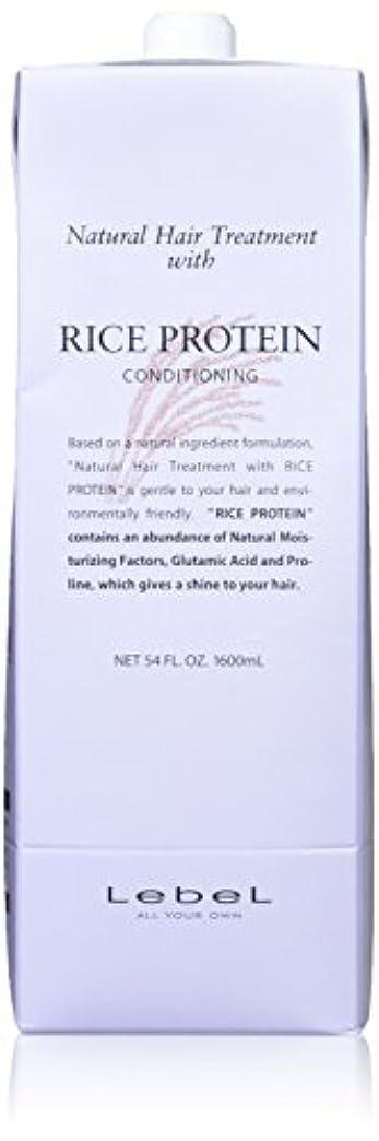 薬を飲む承認広告Lebel ルベル コスメティックス ナチュラルヘア トリートメント RP/ライスプロテイン 1600ml 2本セット