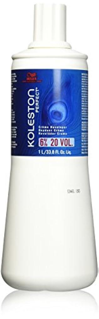 知恵発掘底Koleston Perfect 6 Percent Creme Developer 20 Vol