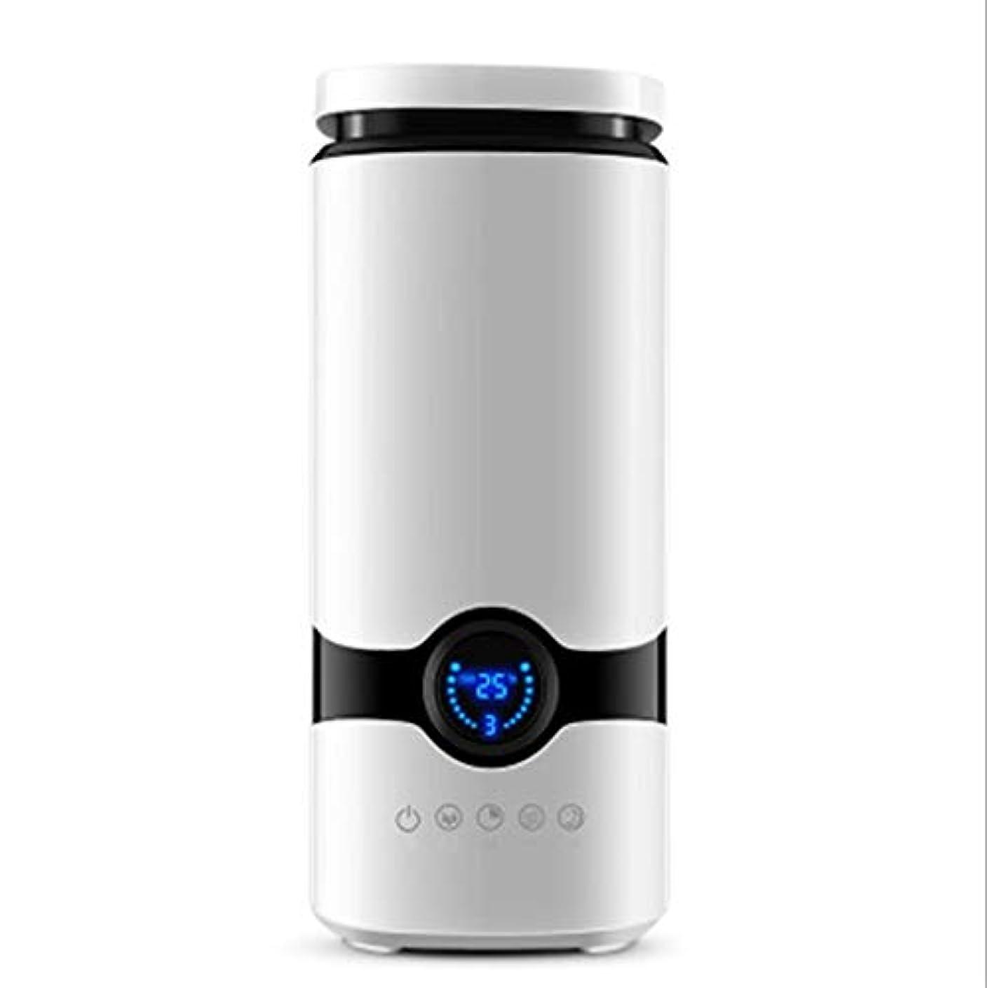ブラシ気まぐれなシリアル4-6Lコールドミスト加湿器、40㎡寝室用超音波加湿器、大容量蒸発器、静かな自動閉鎖ディフューザー (Color : White)
