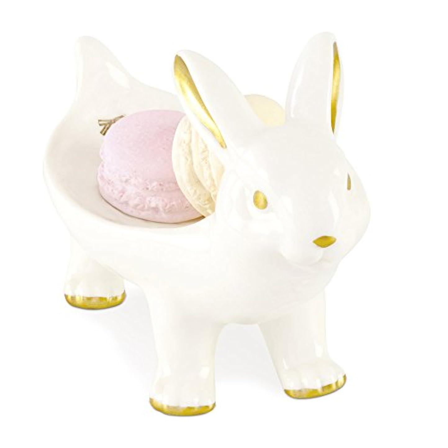 仮定受賞事務所キャリングアニマル アロマストーン&アニマルトレイ Rabbit KH-60960