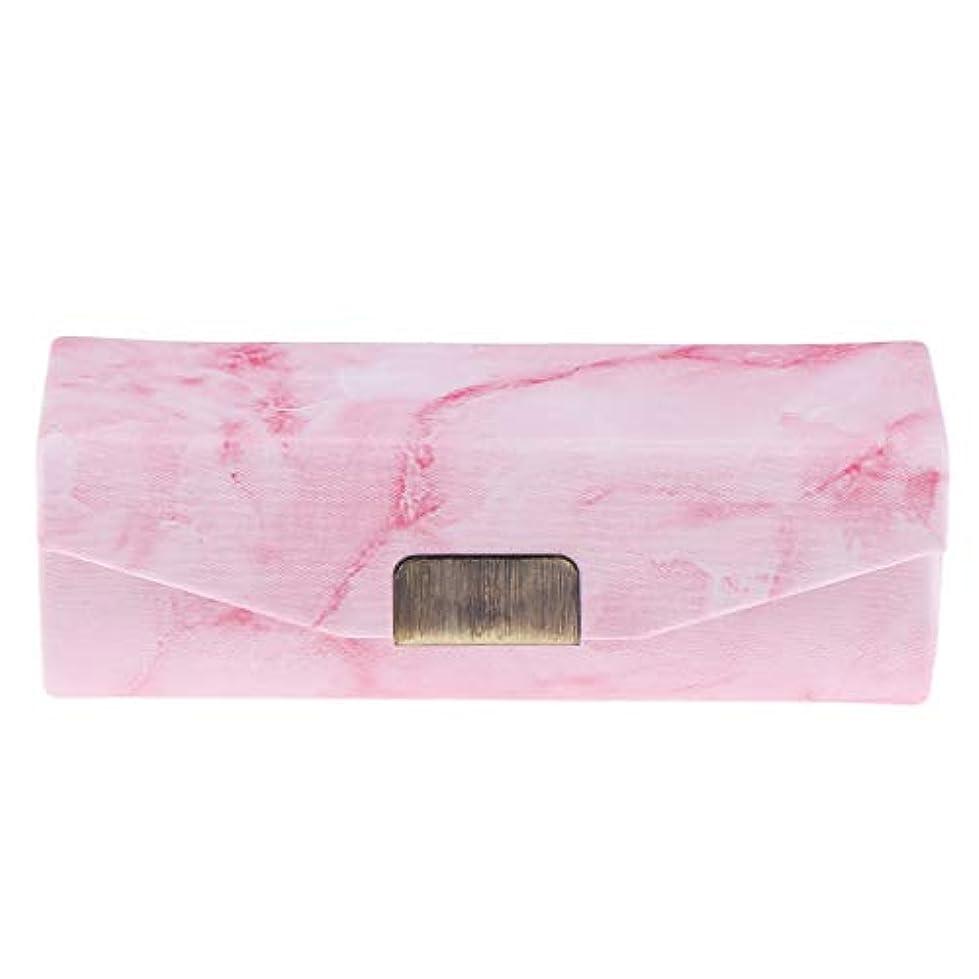 暴露する魅力アイザックP Prettyia リップスティックケース ミラー付き 口紅 コインケース 小物入り 実用的 6色選べ - ピンク