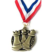 Wholesale Chess Round Chess Medal (Gold)