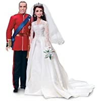 Barbie(バービー) William and Catherine (Kate Middleton) Royal Wedding Collector Gold Label Exclusive Doll Giftset ドール 人形 フィギュア(並行輸入)