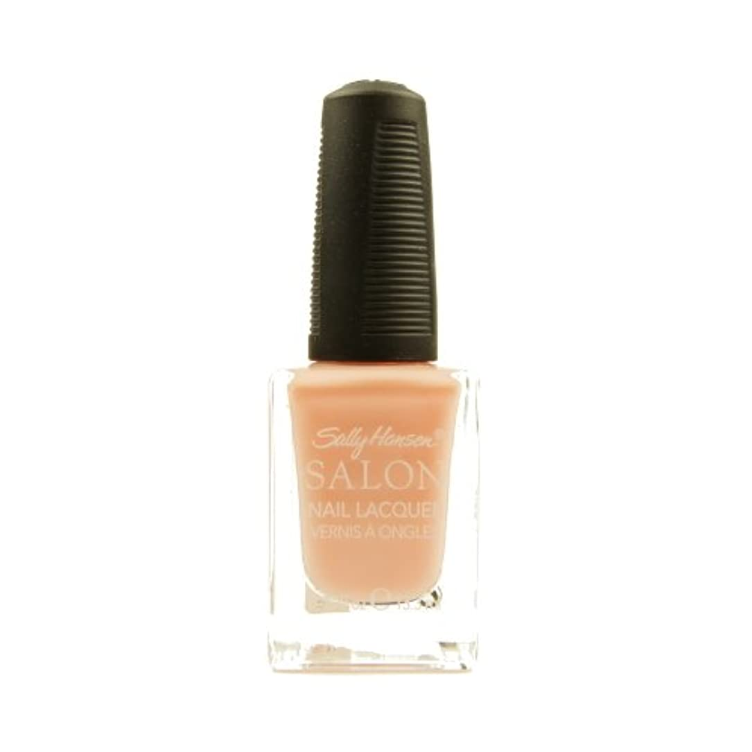 遊具取得警戒(6 Pack) SALLY HANSEN Salon Nail Lacquer 4134 - Pink About It (並行輸入品)