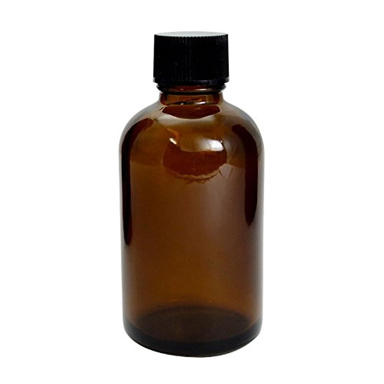 立方体破滅的なスキャンダラス遮光瓶 茶 60cc SYA-T60cc (黒CAP ローション中栓付)