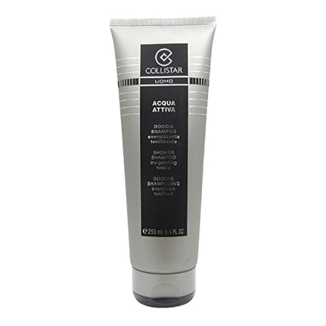 交差点粘液指定するCollistar Men Acqua Attiva Shower Shampoo 250ml [並行輸入品]