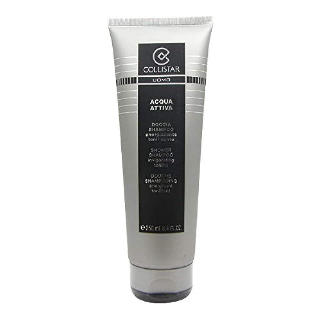 ダイヤモンドエレクトロニック無声でCollistar Men Acqua Attiva Shower Shampoo 250ml [並行輸入品]