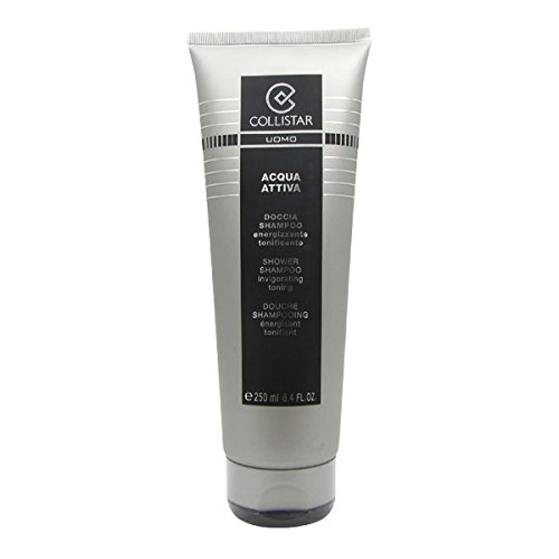 韓国語壊れた爆風Collistar Men Acqua Attiva Shower Shampoo 250ml [並行輸入品]