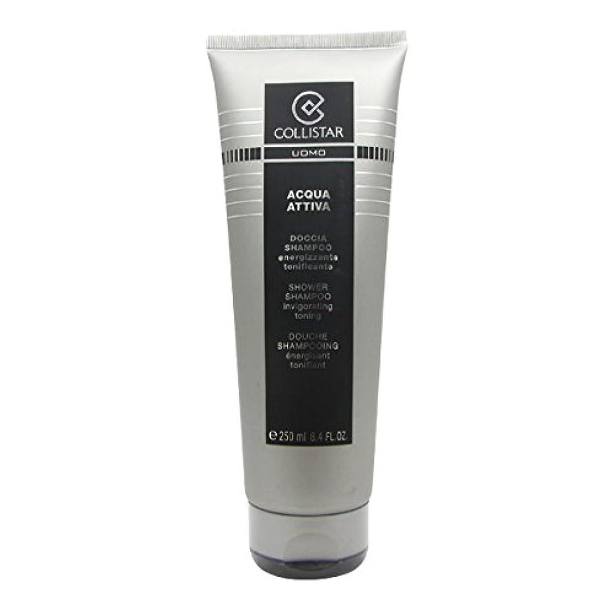 放棄認知緯度Collistar Men Acqua Attiva Shower Shampoo 250ml [並行輸入品]