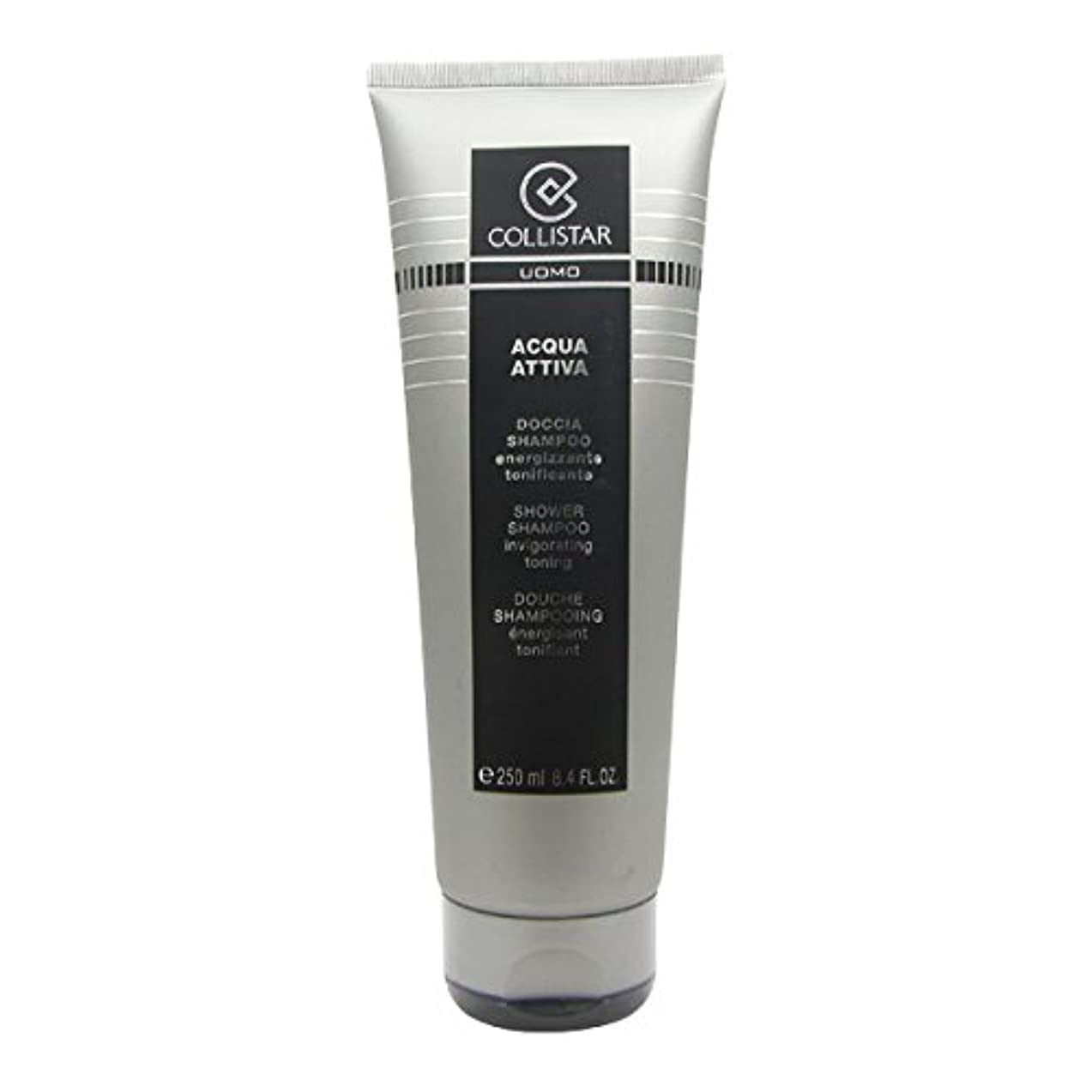 梨野球アクセサリーCollistar Men Acqua Attiva Shower Shampoo 250ml [並行輸入品]