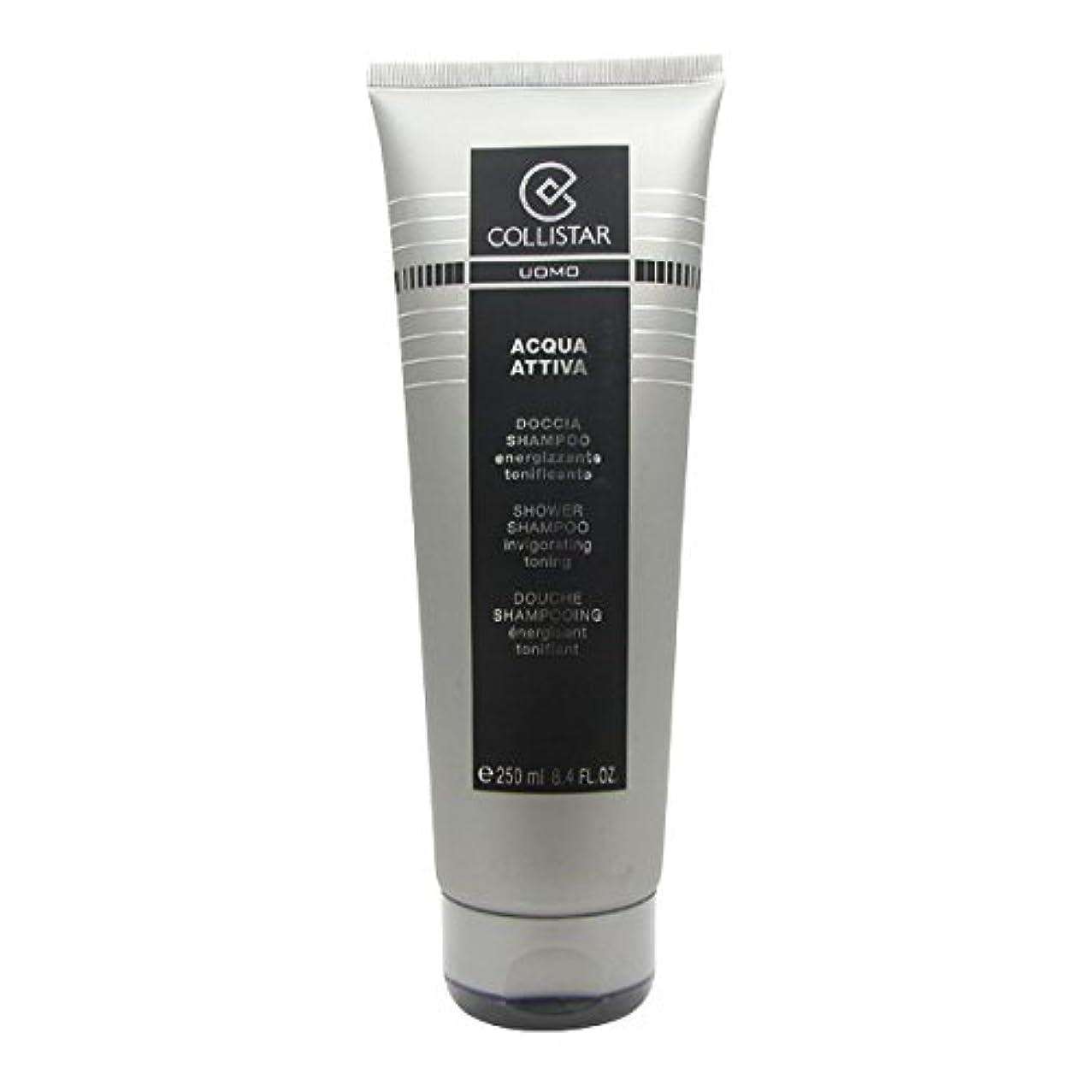 魅力的であることへのアピール鳥合理化Collistar Men Acqua Attiva Shower Shampoo 250ml [並行輸入品]