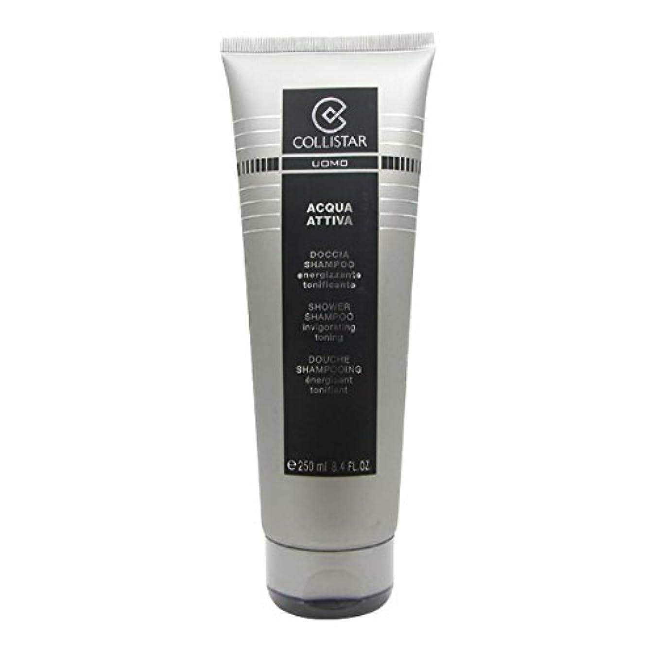 ごちそうキャスト実現可能Collistar Men Acqua Attiva Shower Shampoo 250ml [並行輸入品]