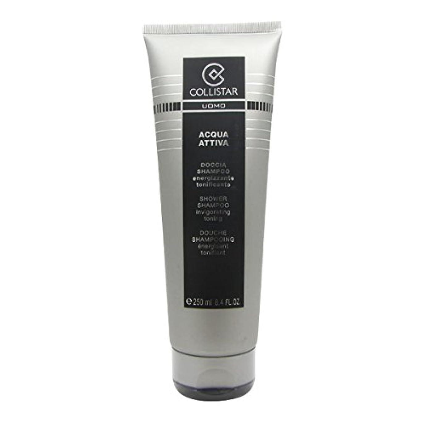 推進なめらか原子炉Collistar Men Acqua Attiva Shower Shampoo 250ml [並行輸入品]