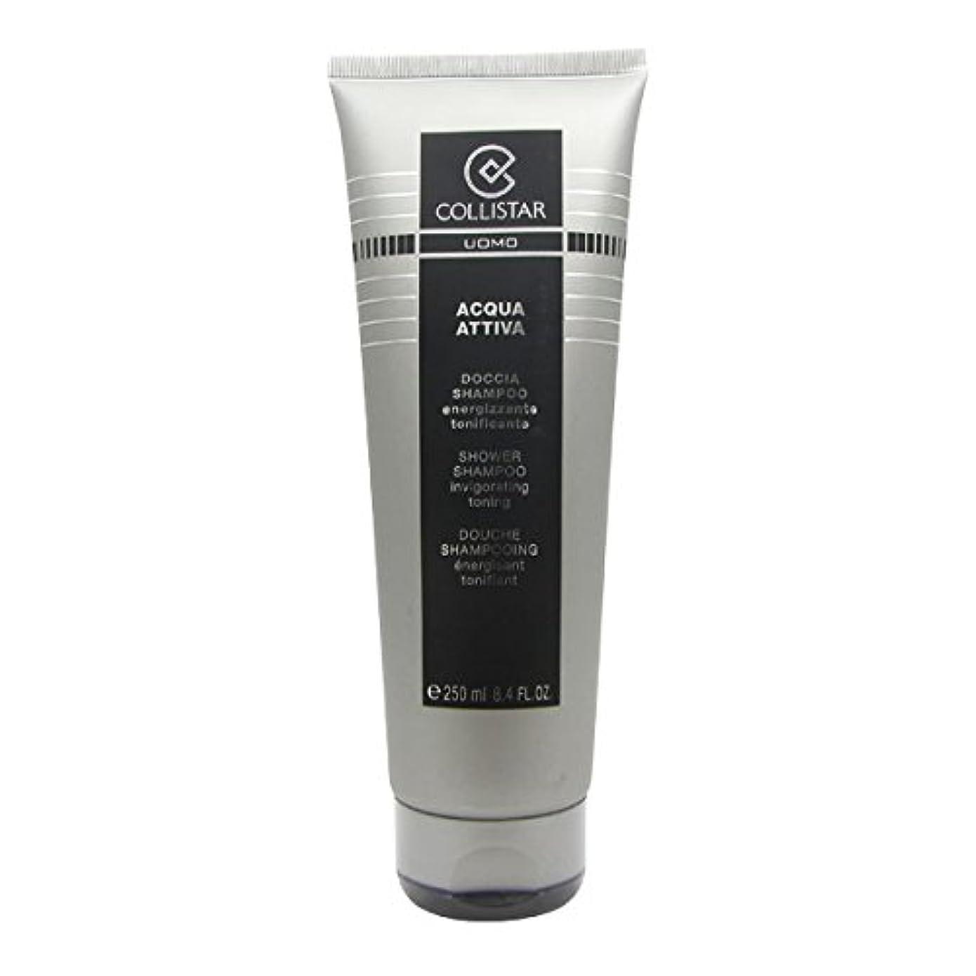 はぁ落胆させる兄弟愛Collistar Men Acqua Attiva Shower Shampoo 250ml [並行輸入品]