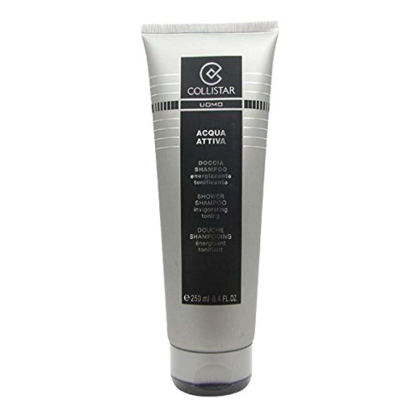 モックメロドラマティック三番Collistar Men Acqua Attiva Shower Shampoo 250ml [並行輸入品]