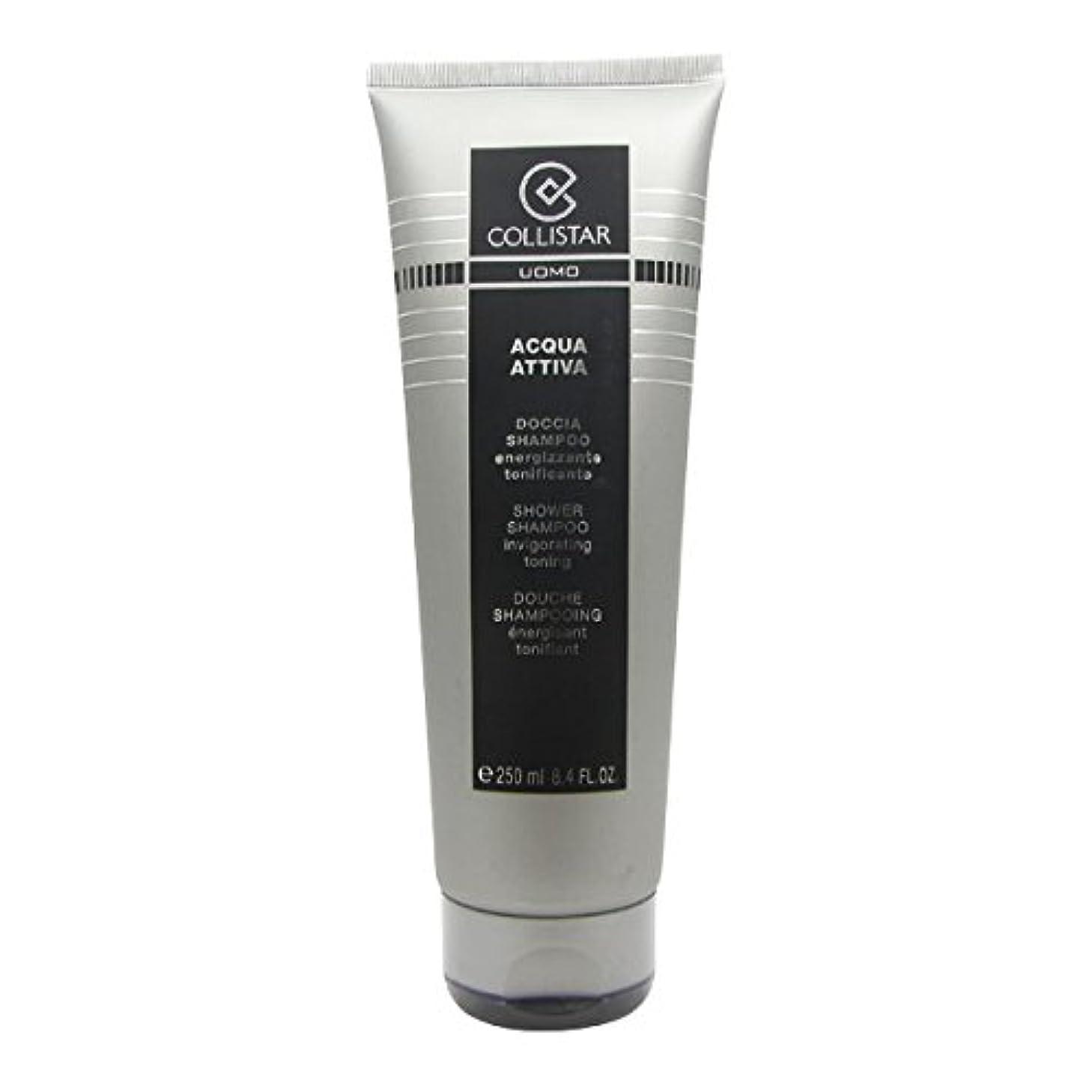 航海のどこでもラックCollistar Men Acqua Attiva Shower Shampoo 250ml [並行輸入品]
