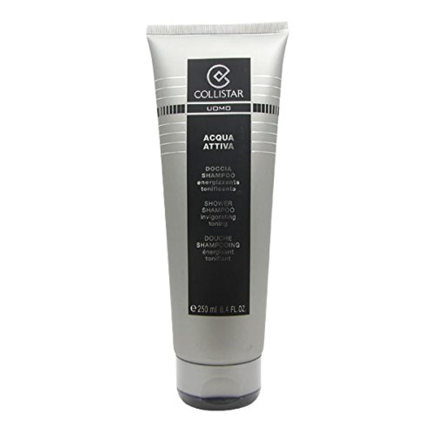 視聴者ストラトフォードオンエイボン専門用語Collistar Men Acqua Attiva Shower Shampoo 250ml [並行輸入品]