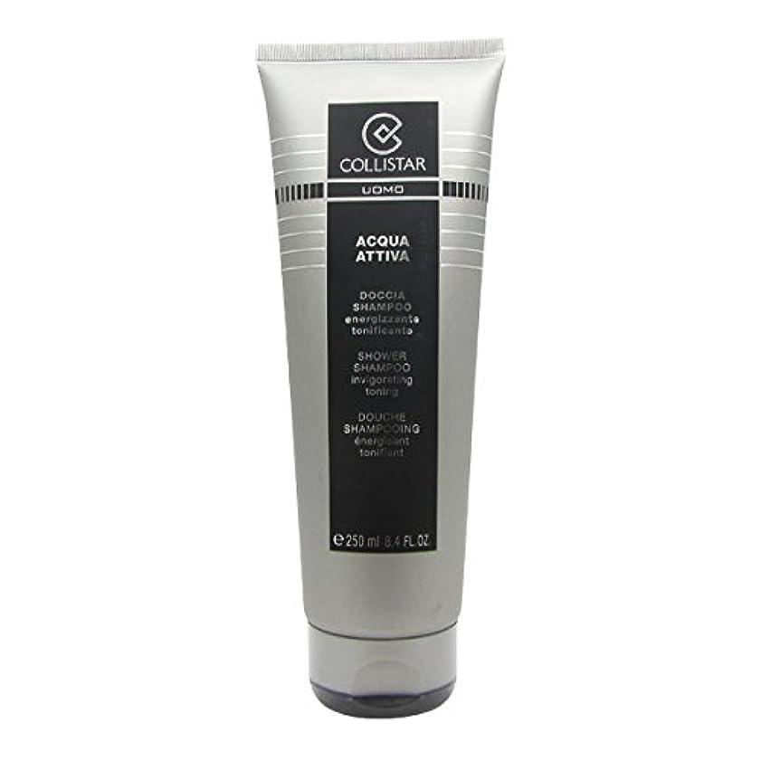 粒子ボトルオートメーションCollistar Men Acqua Attiva Shower Shampoo 250ml [並行輸入品]