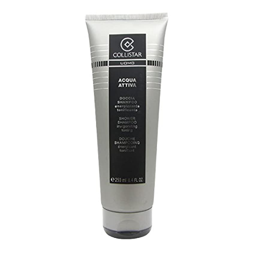 領事館童謡熱心Collistar Men Acqua Attiva Shower Shampoo 250ml [並行輸入品]