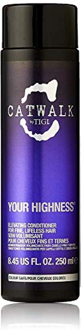 落ち着いて継承オーナーティジー キャットウォーク ユア ハイネス エレベーティング コンディショナー (細く元気のない髪用) 250ml/8.45oz