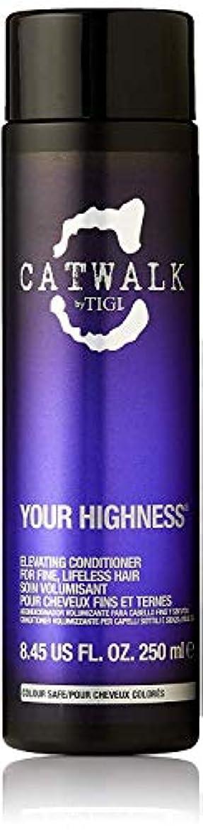 サスペンド教室試すティジー キャットウォーク ユア ハイネス エレベーティング コンディショナー (細く元気のない髪用) 250ml/8.45oz