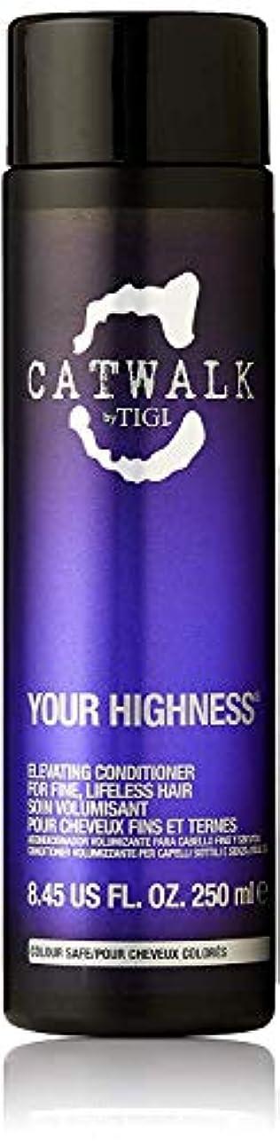 素子軍隊コンデンサーティジー キャットウォーク ユア ハイネス エレベーティング コンディショナー (細く元気のない髪用) 250ml/8.45oz