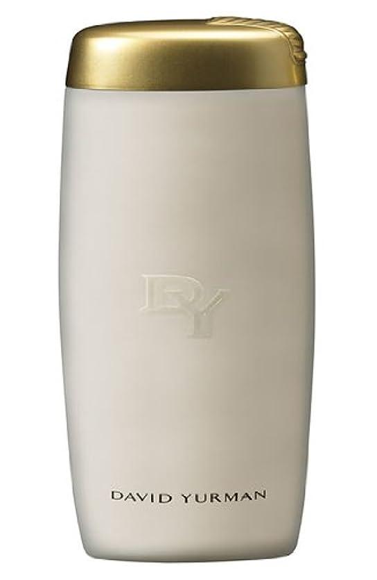 ライセンス夜明けにバーベキューDavid Yurman (デイビッド ヤーマン) 6.7 oz (100ml) Luxurious Bath & Shower Gel (箱なし) for Women