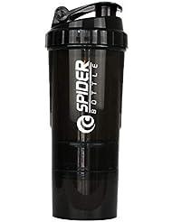 Trueland ブレンダーボトル プロテインパウダー揺れ瓶 プロテインシェーカー 栄養補助瓶 スナップ式 500ml