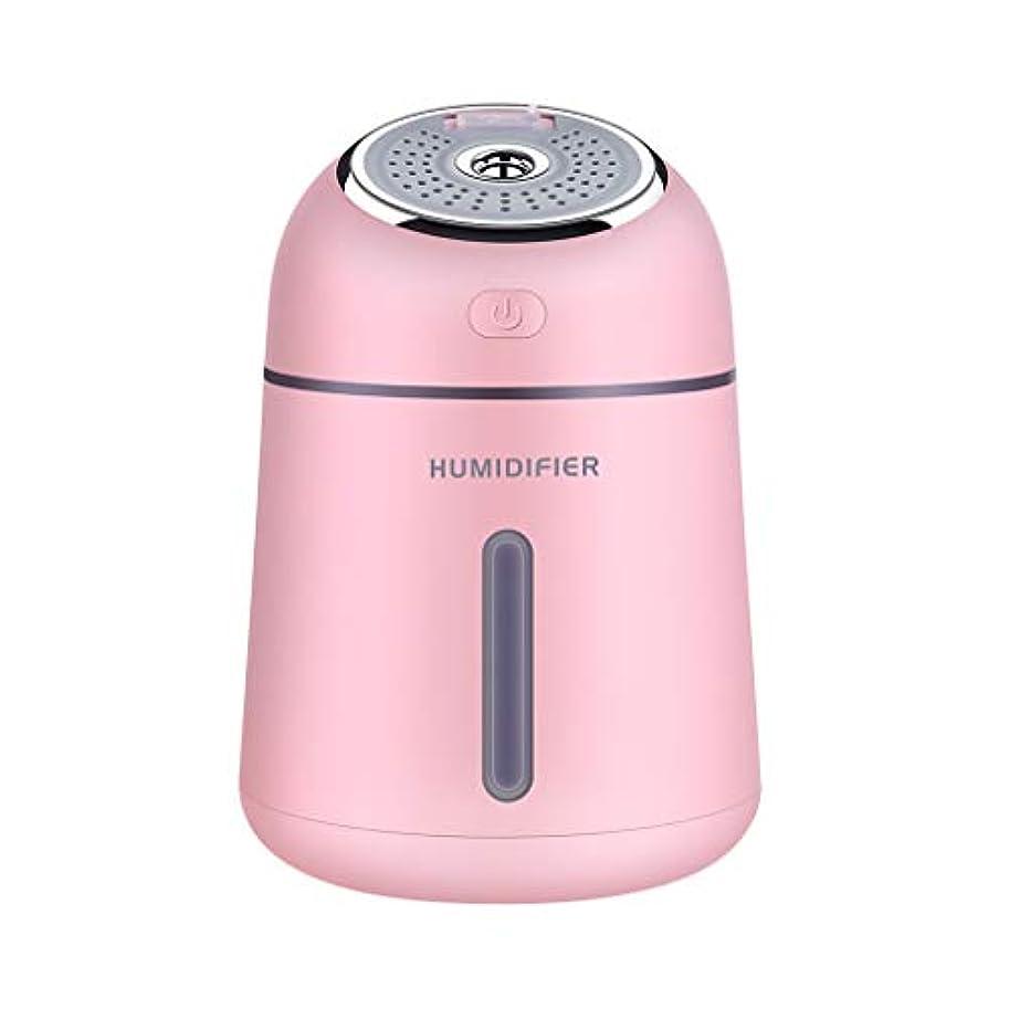超音波エッセンシャルオイルアロマセラピーマシン、空気清浄機加湿器、肌の保湿と美容、USB、LEDライト、寝室用ベビールームのヨガルームオフィスとスパ (色 : A)