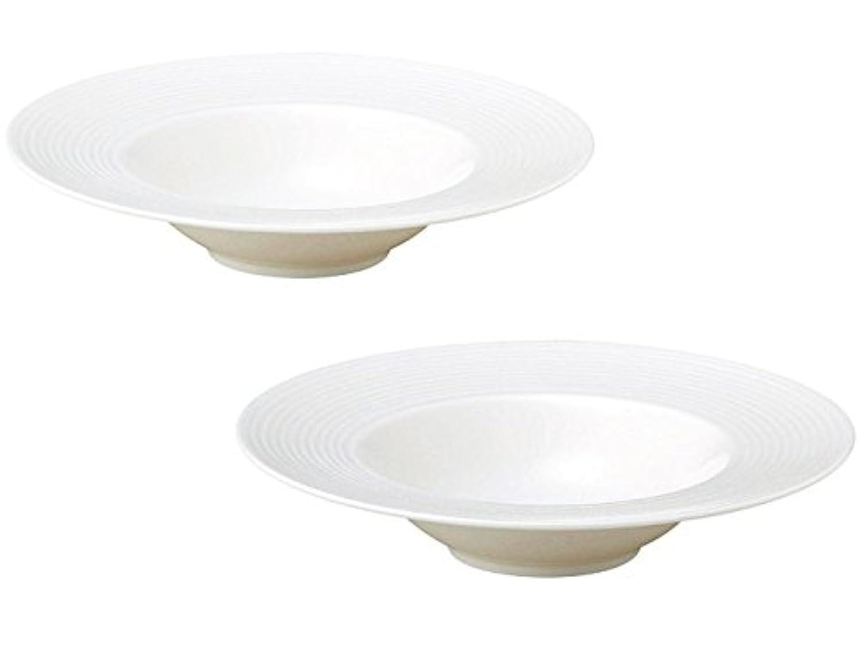 リベラ 24cm スープ皿 2枚セット 箱入り 日本製