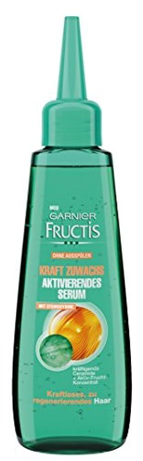 土地大佐変形Garnier Fructis Kraft Zuwachs Aktivierendes Serum, 6er Pack (6 x 80 ml)