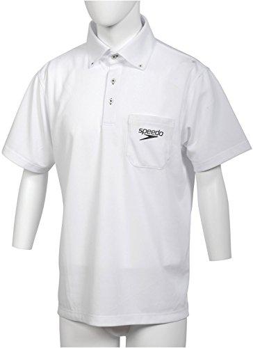 スピード ポロシャツ L ホワイト 1枚 GW SD14S01 W ゴールドウイン [1992]