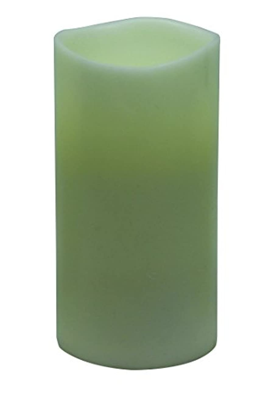 与える雑草起きてGKI / Bethlehem照明Encandra Pillar Candle 3 by 6-Inch 100520345