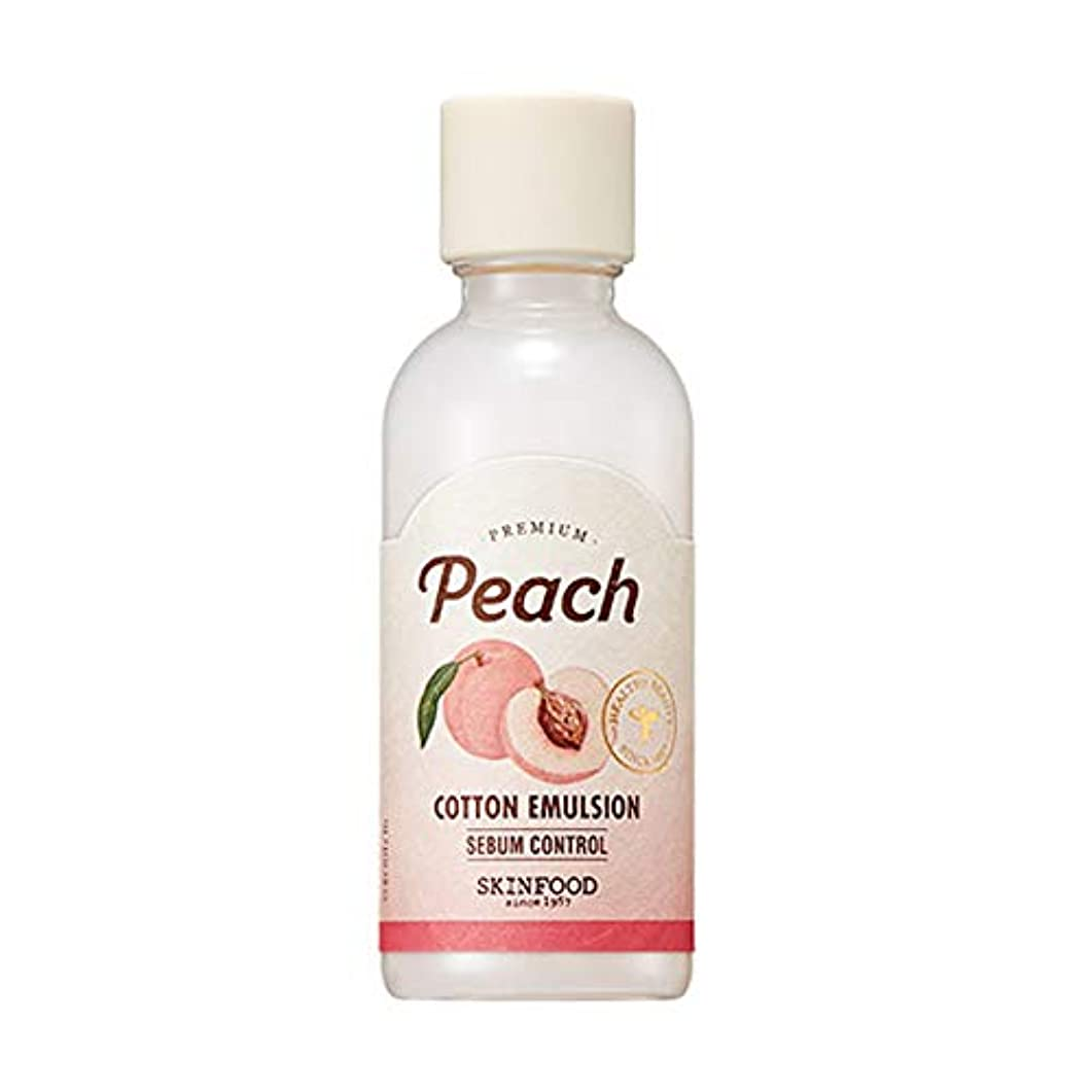 ハッピー聖書ウミウシSkinfood プレミアムピーチコットンエマルジョン/Premium Peach Cotton Emulsion 160ml [並行輸入品]