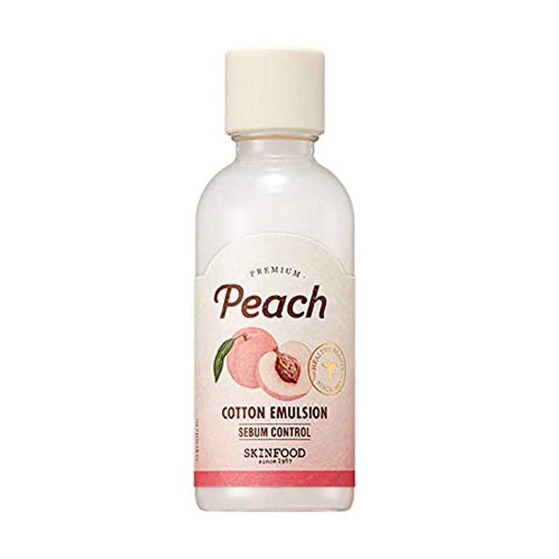 で結核タワーSkinfood プレミアムピーチコットンエマルジョン/Premium Peach Cotton Emulsion 160ml [並行輸入品]