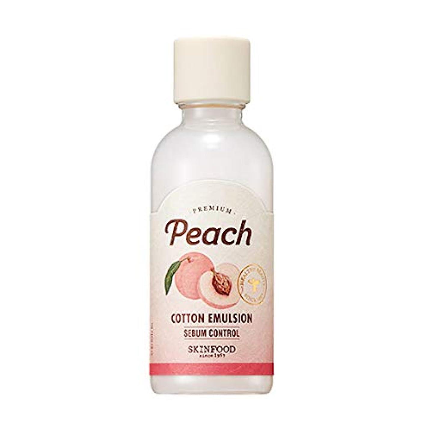 出力冷える寸前Skinfood プレミアムピーチコットンエマルジョン/Premium Peach Cotton Emulsion 160ml [並行輸入品]